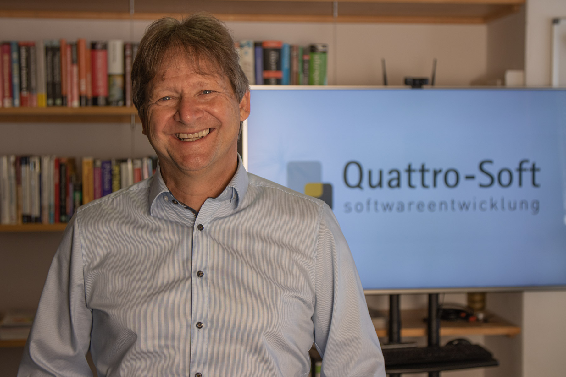 Richard Hütter ist der Geschäftsführer der Quattro-Soft GmbH.